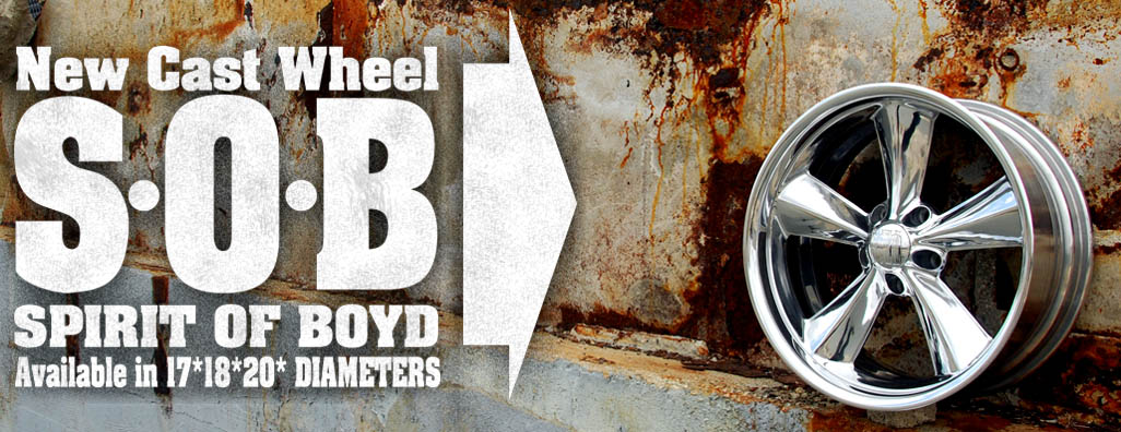 Spirit of Boyd, S.O.B., Boyd Coddington Wheels