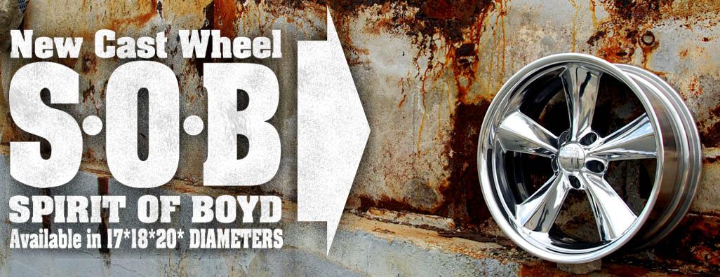 Spirit of Boyd, S.O.B., Boyd Coddington Wheels