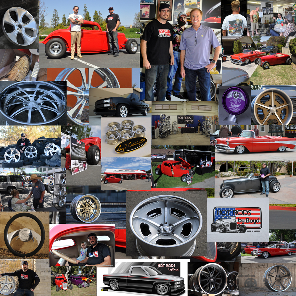 Hot Rods by Boyd 2013 Collage