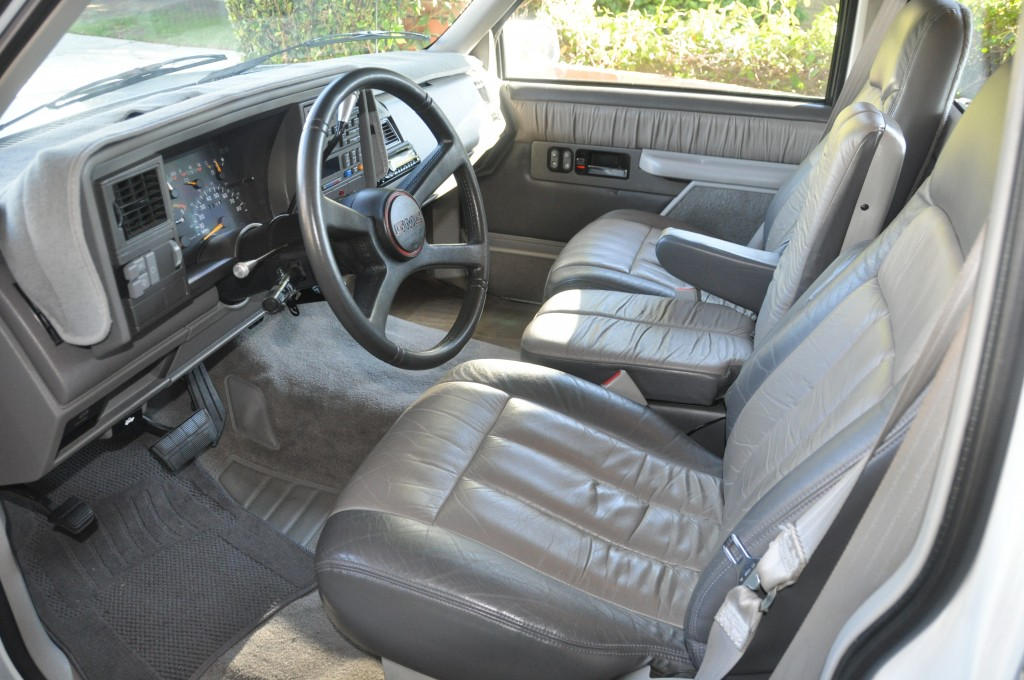 Interior shot of the GMC