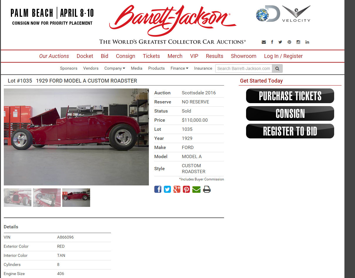 The Truth about the 1929 Roadster Dave Kindig Sold at